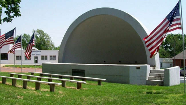 War Memorial Bandshell