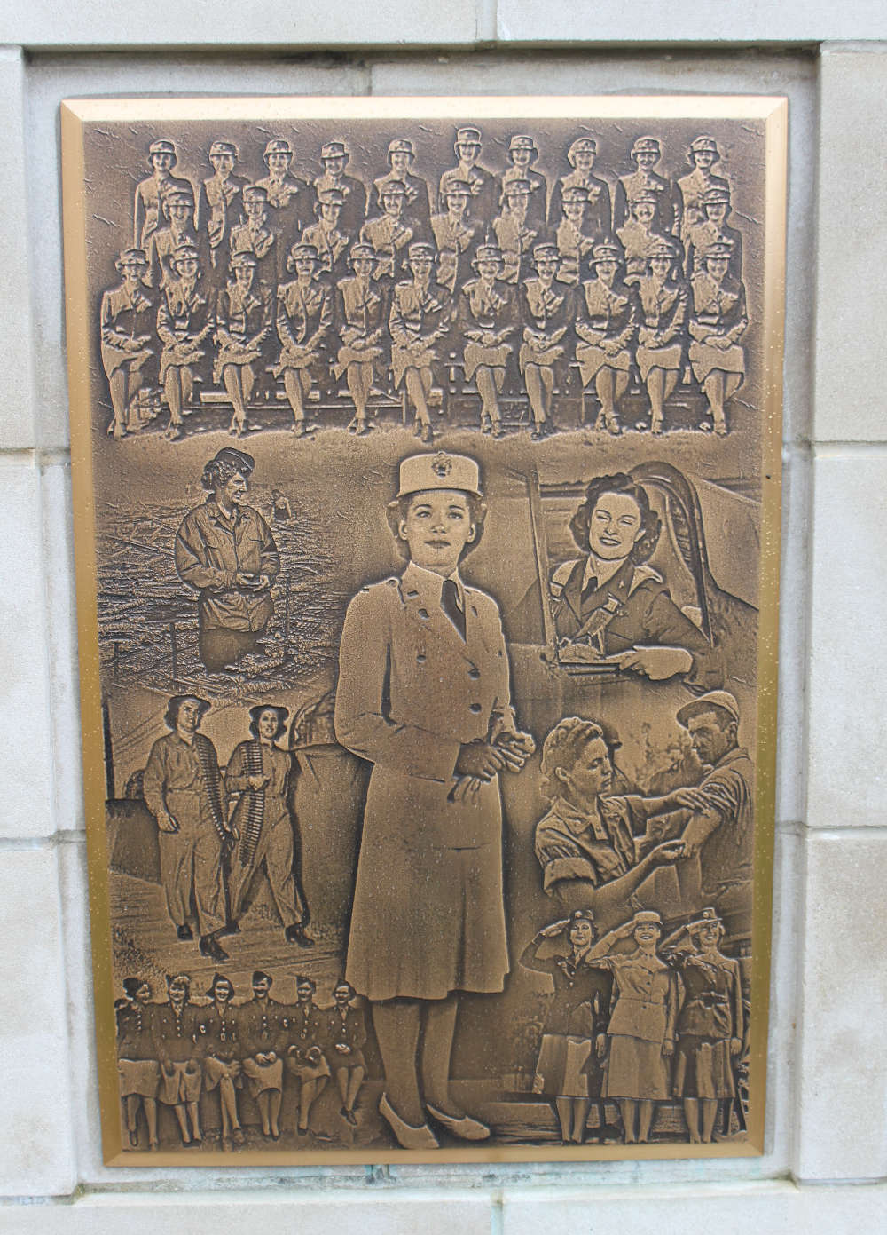 Photo Relief Memorial Plaque