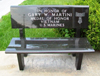 Medal of Honor Memorial Bench