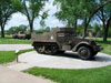 Military Vehicle Memorials with Plaques