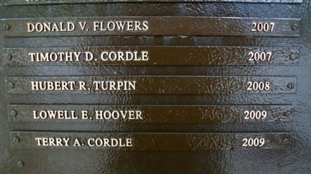 THE OHIO MILITARY HALL OF FAME FAIRFIELD COUNTY HONOREES PLAQUE B