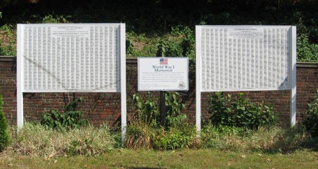 WATERBURY WORLD WAR I MEMORIAL