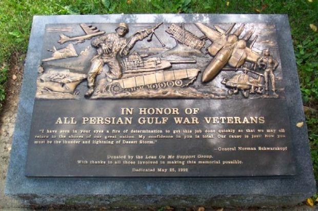 Gulf War Memorial Dc