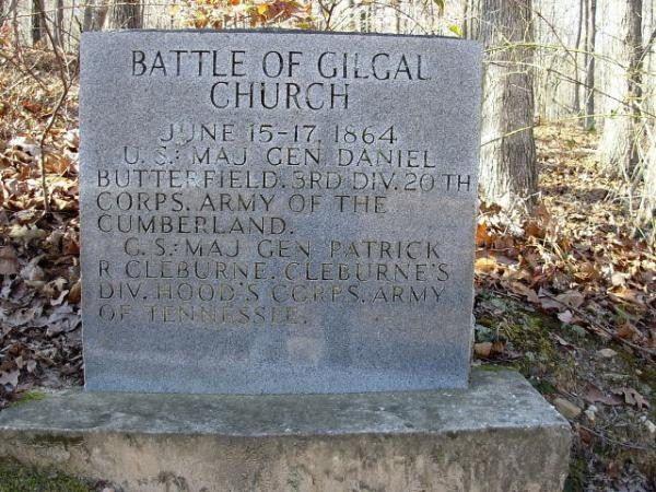 BATTLE OF GILGAL CHURCH WAR MEMORIAL
