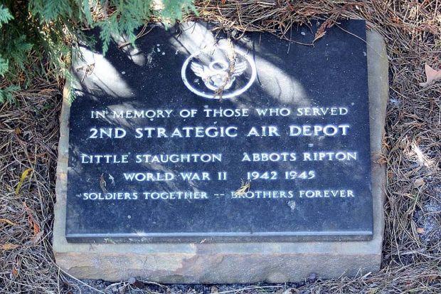 2ND STRATEGIC AIR DEPOT WAR MEMORIAL