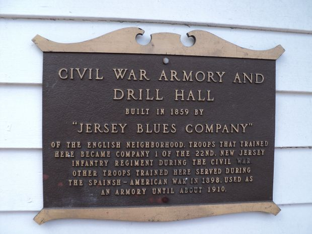 JERSEY BLUES COMPANY MEMORIAL MARKER