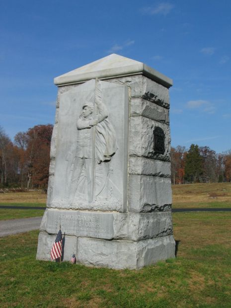 4TH MICHIGAN INFANTRY WAR MEMORIAL