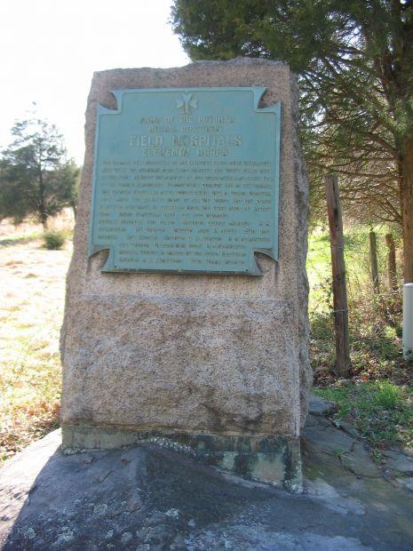 FIELD HOSPITALS ELEVENTH CORPS WAR MEMORIAL