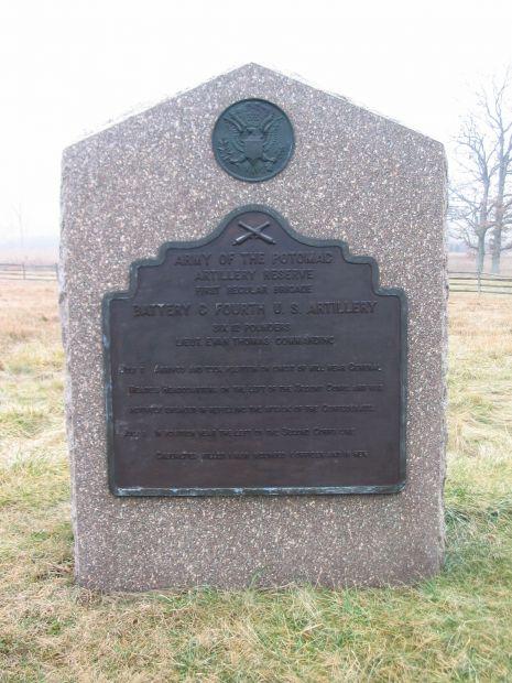 BATTERY C, FOURTH U.S. ARTILLERY WAR MEMORIAL