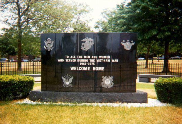 SOUTH BOSTON VIET-NAM MEMORIAL BACK