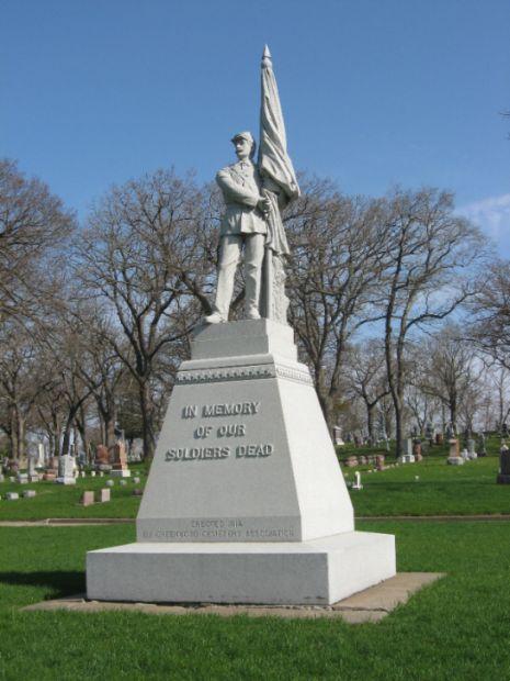 GREENWOOD CEMETERY CIVIL WAR MEMORIAL