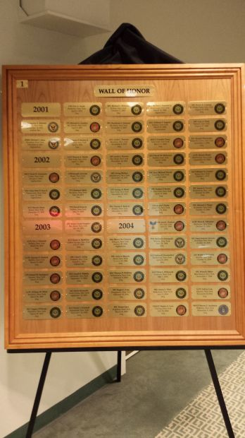 UNITED WAR VETERANS COUNCIL WALL OF HONOR