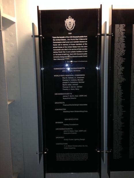 MASSACHUSETTS WORLD WAR II MEMORIAL