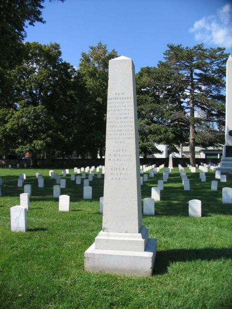 14TH NEW HAMPSHIRE REGIMENT WAR MEMORIAL