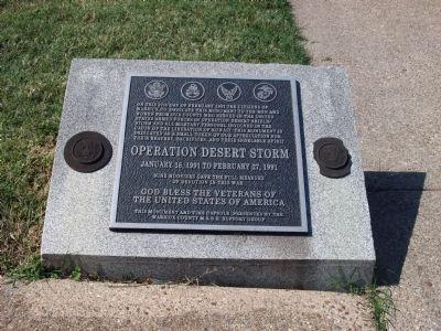 WARRICK COUNTY DESERT STORM VETERANS MEMORIAL