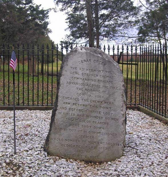 8TH VERMONT VOLUNTEERS WAR MEMORIAL