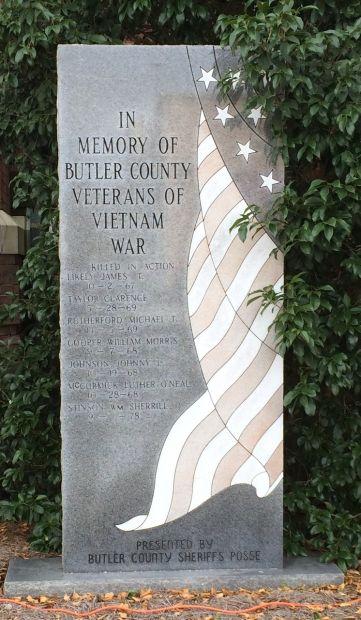 BUTLER COUNTY VIETNAM WAR MEMORIAL