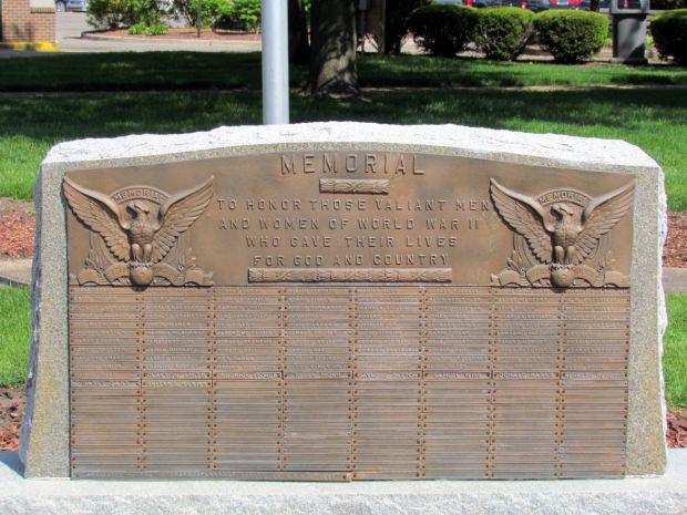 BRANCH COUNTY WORLD WAR II MEMORIAL