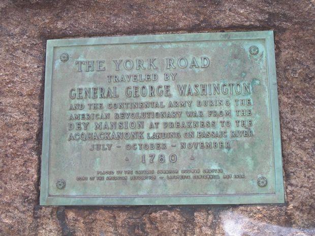 THE YORK ROAD REVOLUTIONARY WAR MEMORIAL