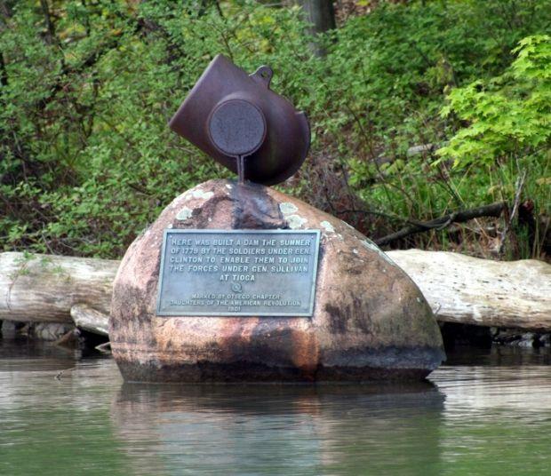 GENERAL CLINTON'S DAM REVOLUTIONARY WAR MEMORIAL