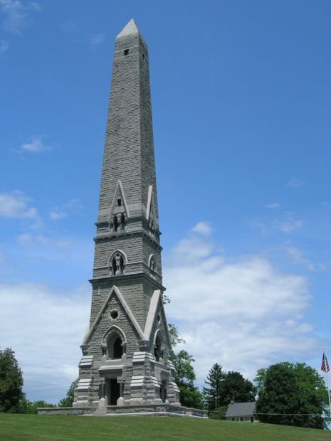 SARATOGA MONUMENT REVOLUTIONARY WAR MEMORIAL TOWER