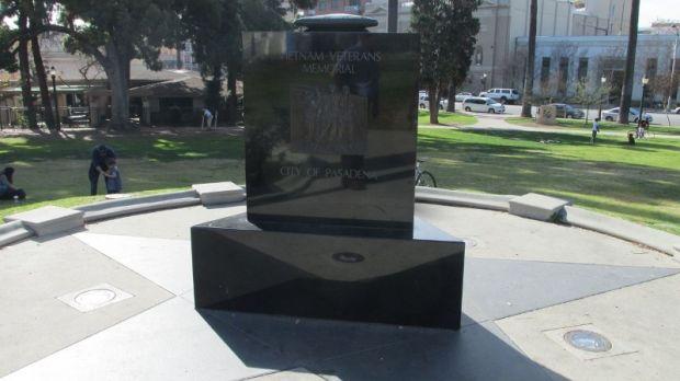 CITY OF PASADENA VIETNAM VETERANS MEMORIAL SIDE A