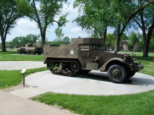 Military-Vehicle-Memorials-with-Plaques